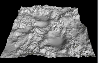 Height Map in 3D